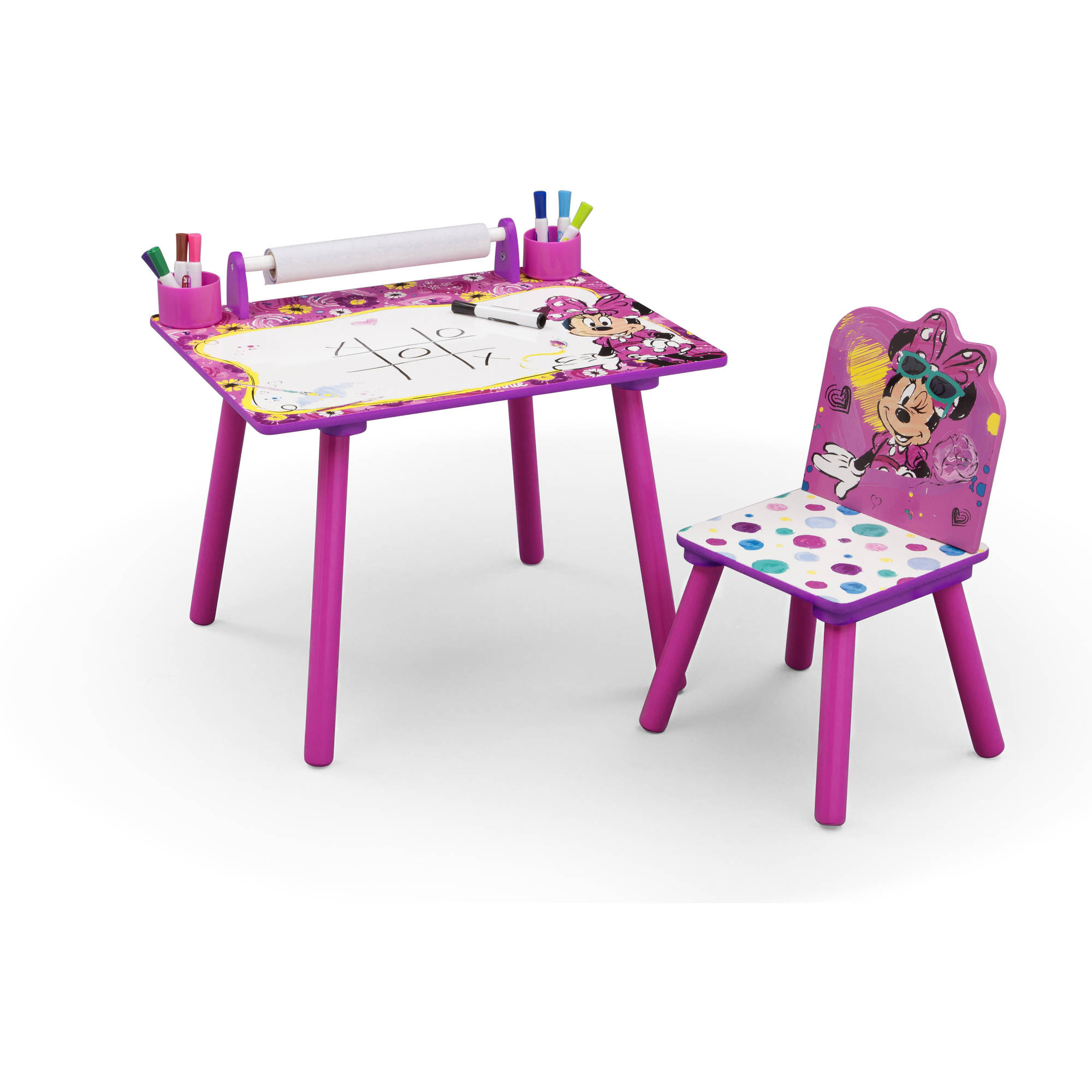minnie mouse chairs for kids garden chair covers amazon art desk play drawing disney
