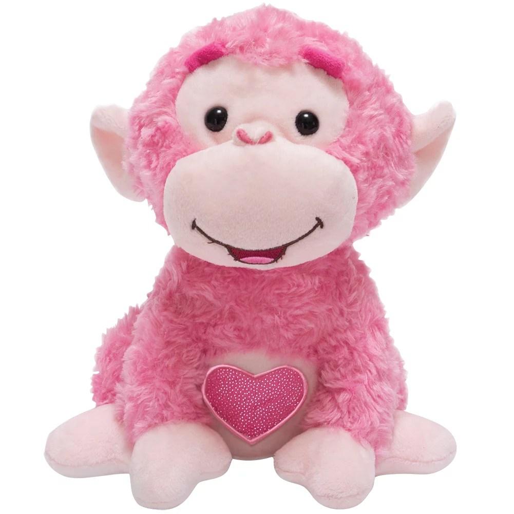Set Love Me Coco Monkey Plush Valentine S Day Animated