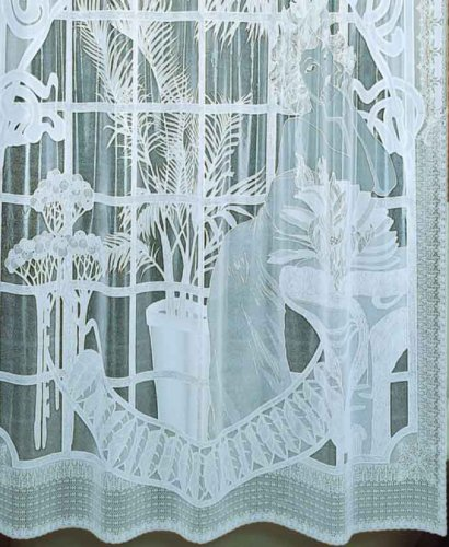shower curtain floral design 12 hooks vinyl lace textured clear 72x72 inches