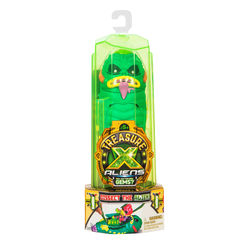 Treasure X Alien Hunters Single Pack With 12 Step Reveal