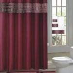 Burgundy Fresco 15 Piece Hotel Bathroom Sets 2 Non Slip Bath Mats Rugs Fabric Shower Curtain 12 Hooks Walmart Com Walmart Com