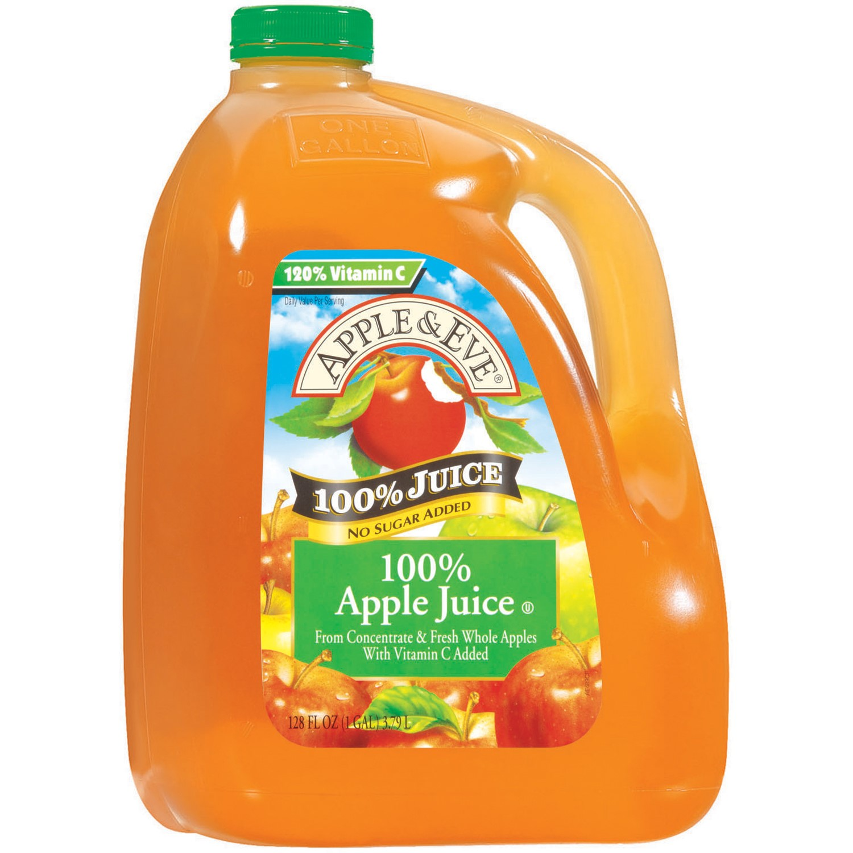 UPC 076301721289 Apple and Eve Clear Apple Juice 128