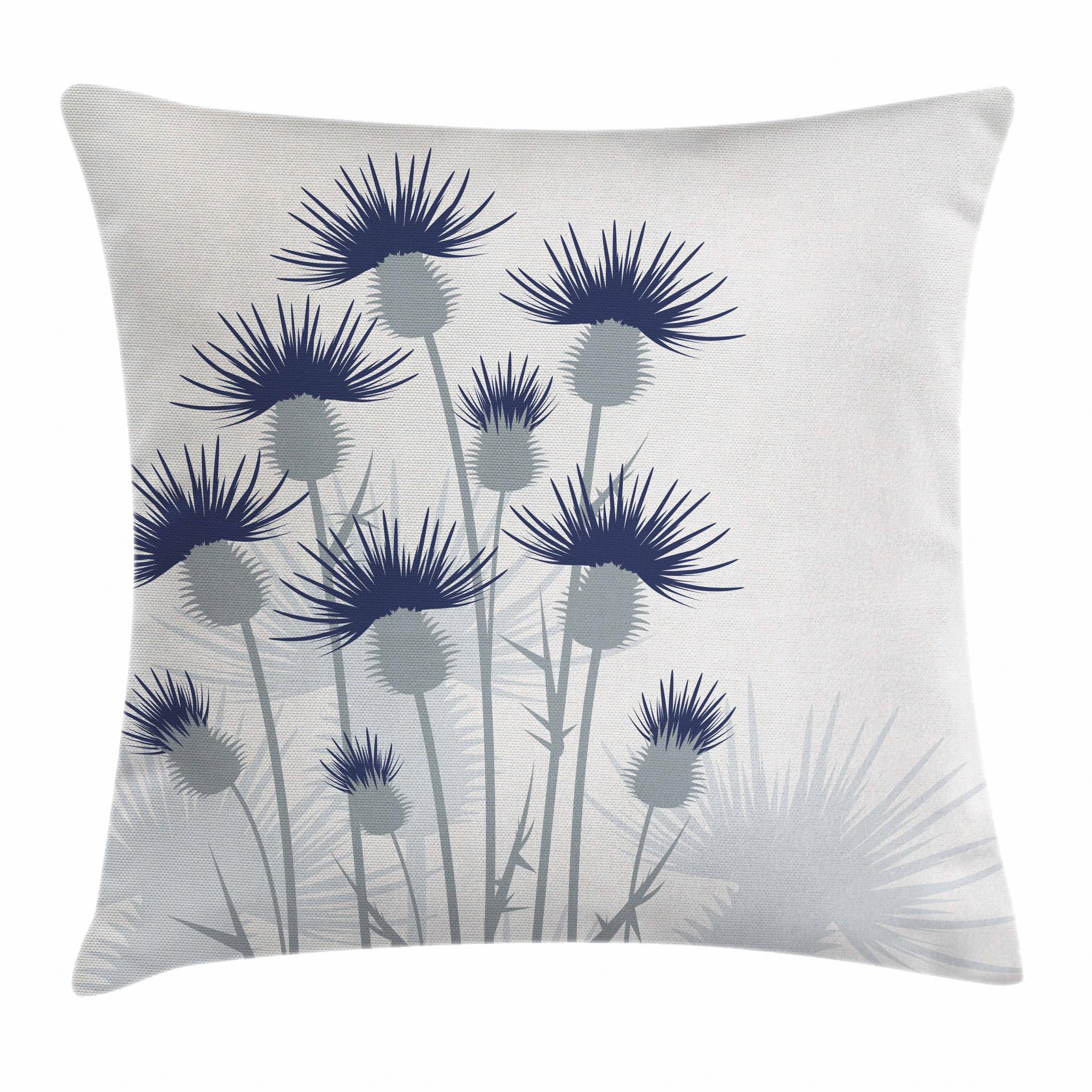 thistle throw pillow cushion