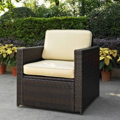 All Weather Garden Chair Wooden Card Table And Chairs Emerald Home Reims Brick Gray Outdoor Lounge With Swivel Glider Wicker Spuncrylic Cushions Walmart Com