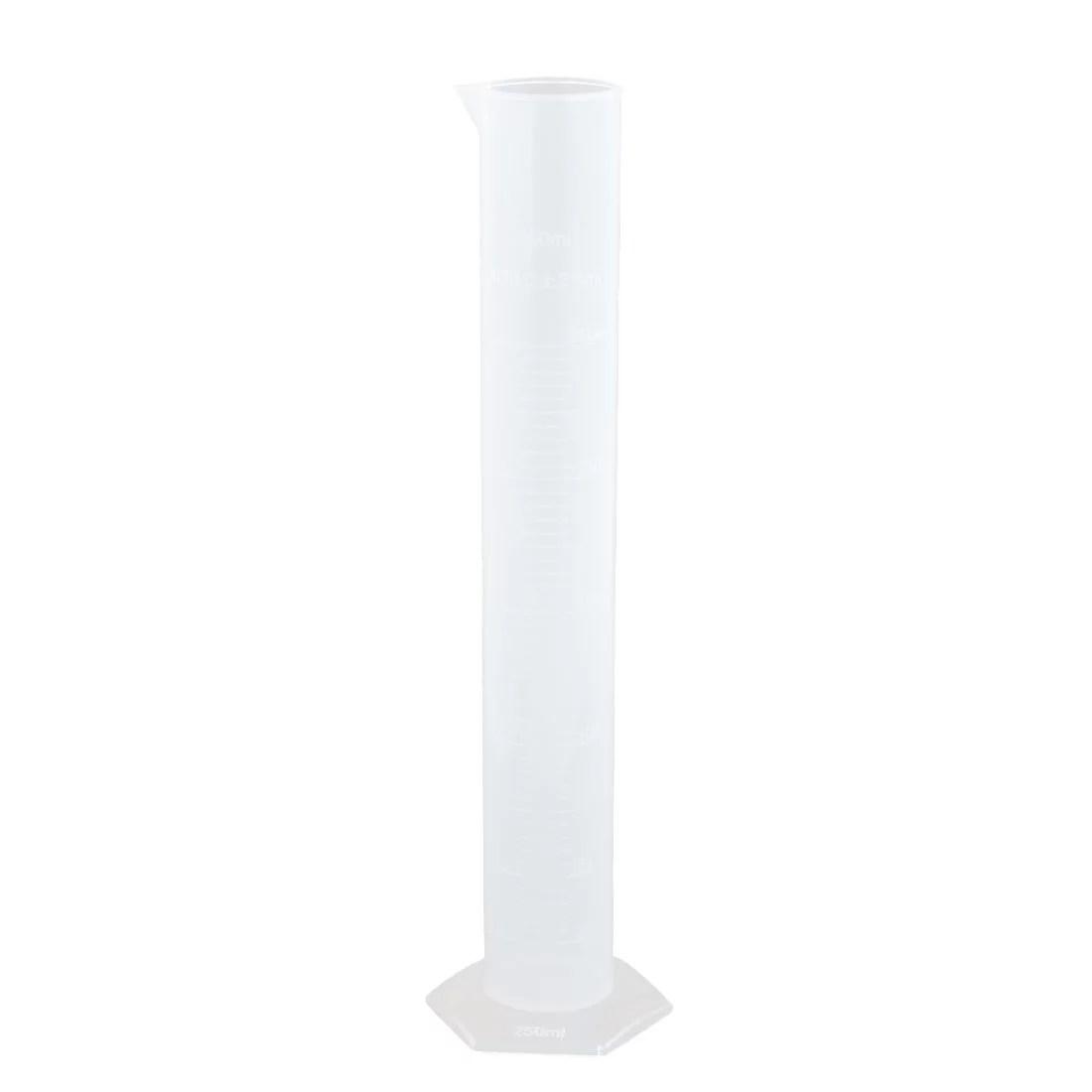 Unique Bargains 250ml Pp Plastic Hex Base Measurement