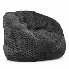 Buy Bean Bag Chair Shaker Tape Urban Shop Cocoon Faux Fur Multiple Colors Walmart Com
