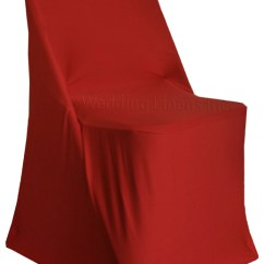 Chair Covers For Parties Recliner Lift Wedding Linens Inc 5 Pcs Spandex Folding Fitted Lycra Stretch Elastic Party Decoration Apple Red Walmart Com