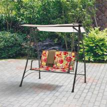 Mainstays 2-person Padded Swing Floral 667930050200