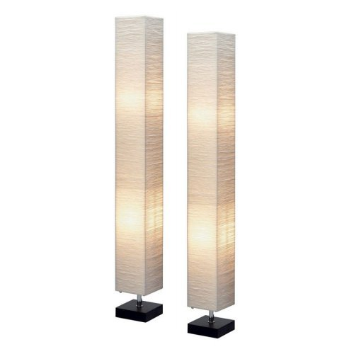 Aspire Home Accents Isa Square Floor Lamp Set