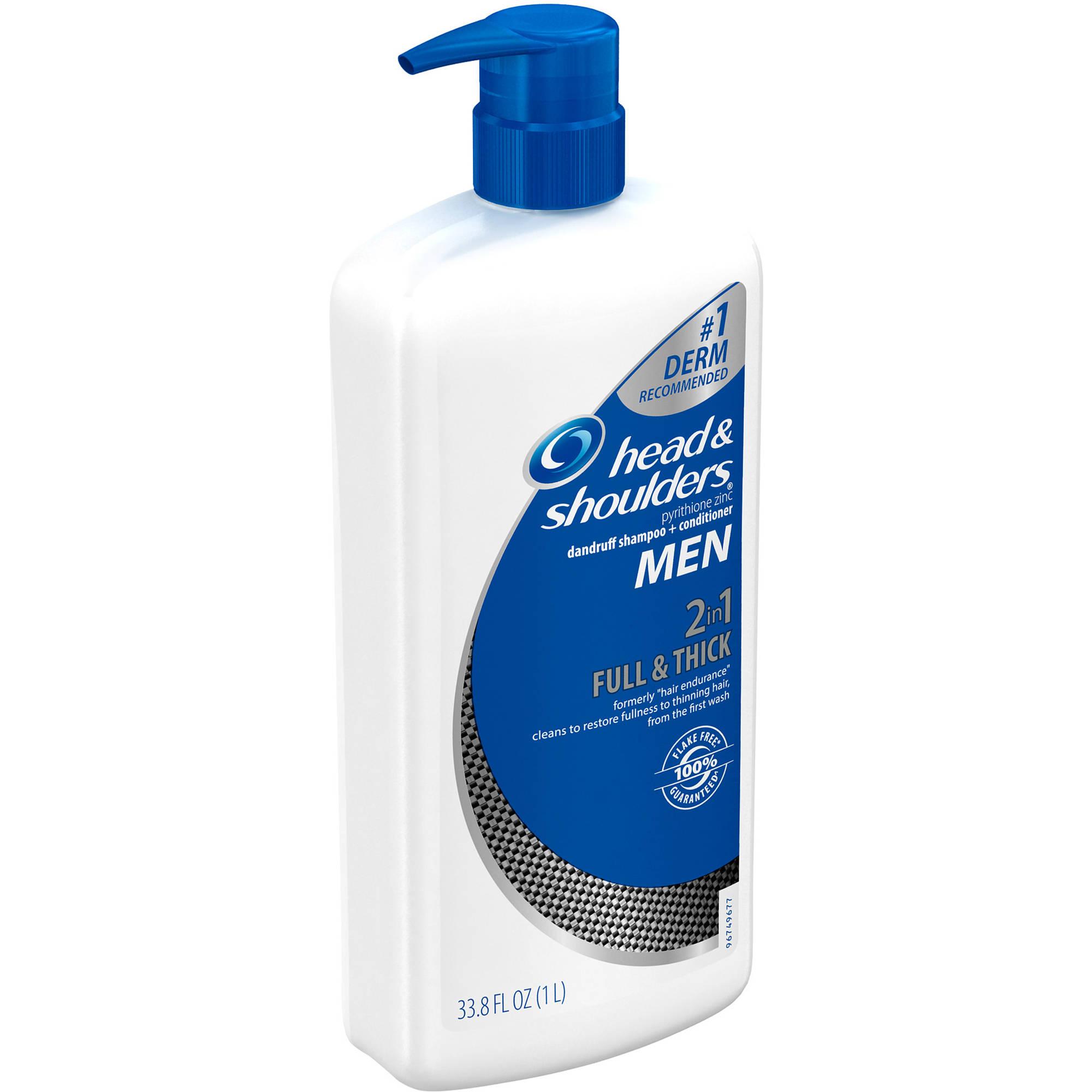 Head Shoulders Men 2in1 Full Thick Dandruff Shampoo