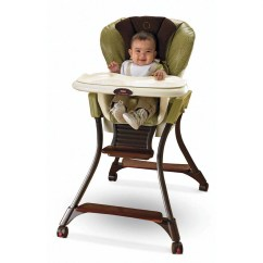 Fisher Price High Chair Seat Hickory Stool Zen Collection Walmart