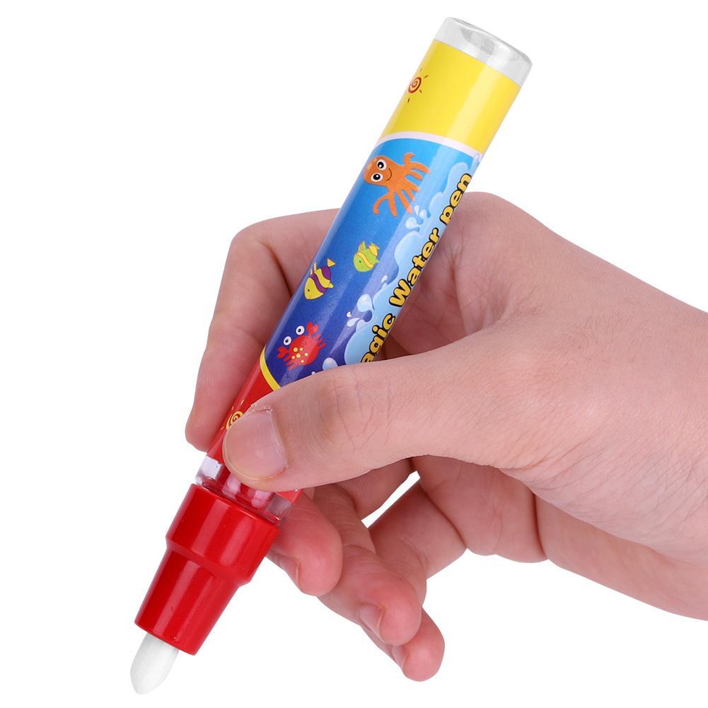 greensen 2pcs set bebe stylos a colorier de l eau de dessin stylo pour enfants magie peinture tapis livre cadeau enfants stylo a eau bebe stylo a