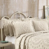 KINGSTON TUFTED CHENILLE BEDSPREAD AND PILLOW SHAM SET ...