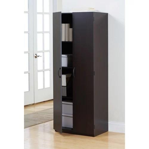 Mainstays Storage Cabinet Espresso  Walmartcom