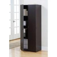 Mainstays Storage Cabinet, Espresso - Walmart.com
