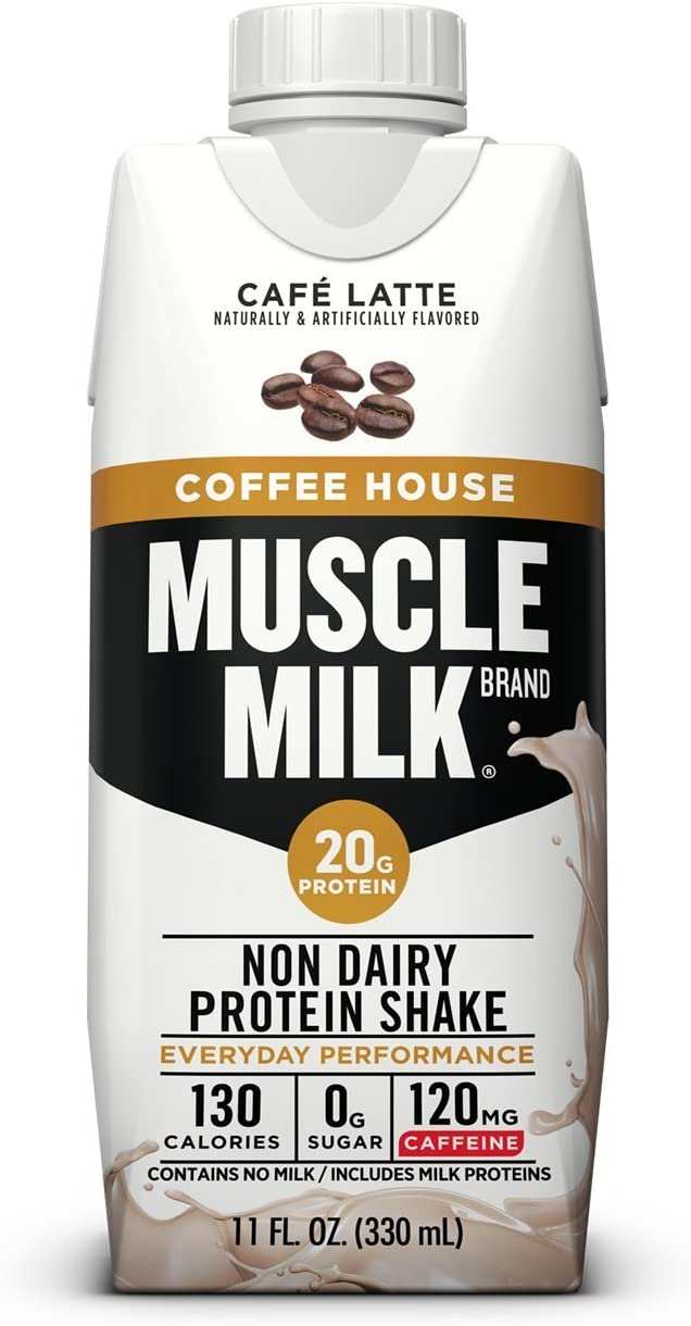 Muscle Milk Coffee House Protein Shake Cafe Latte 11 Fl ...