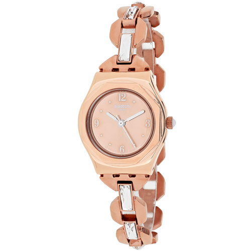Swatch Women's Irony YSG136G Rose Gold Stainless-Steel Swiss Quartz Fashion Watch