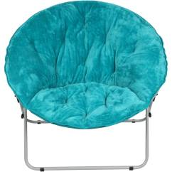 Transport Chairs At Walmart Small Kitchen Table And Set Mainstays Oversized Saucer Chair, Multiple Colors - Walmart.com