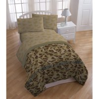 Duck Dynasty Tan Camo Polyester Bedding Sheet Set