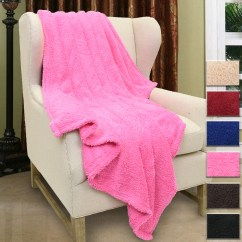 Fuzzy Sofa Cane Set India Online Sherpa Throw Blanket Blue 50 Quot X 60 Couch
