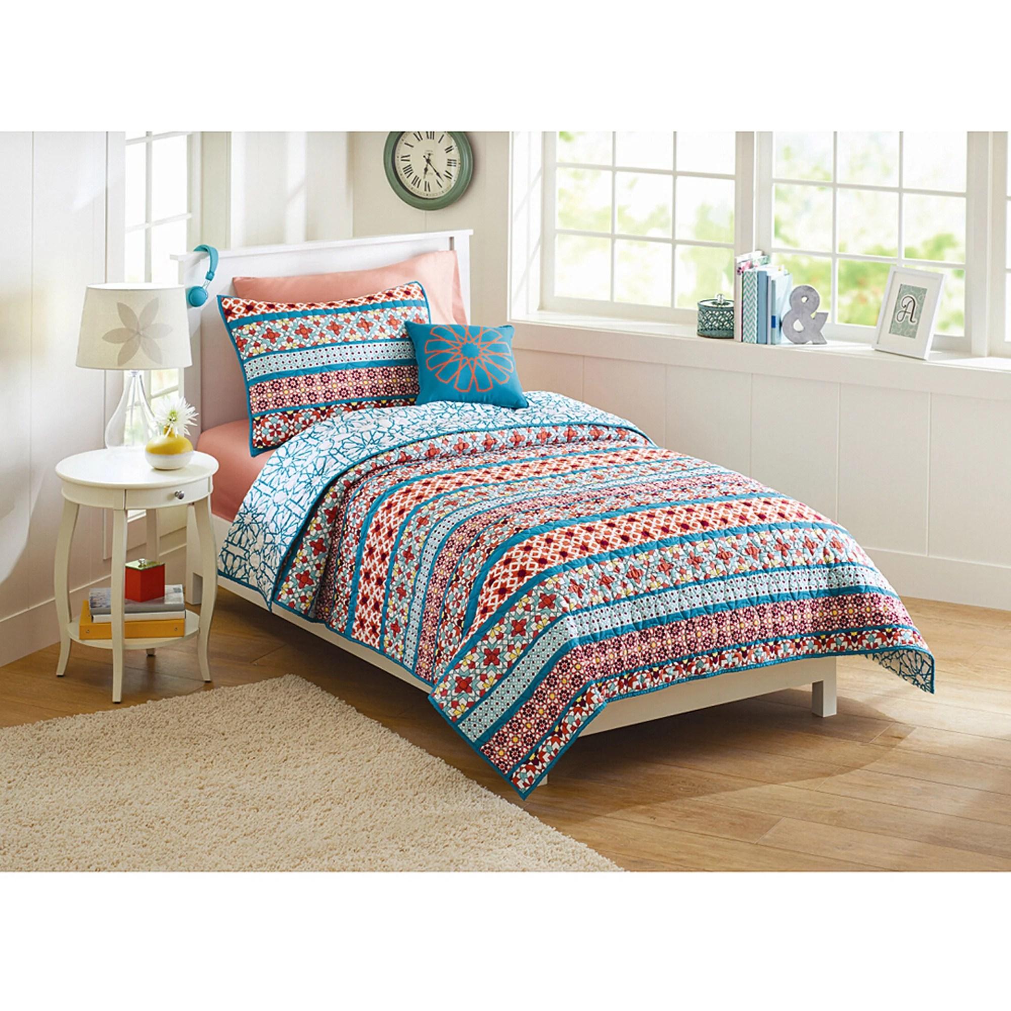 Better Homes and Gardens Turkish Medallion Quilt Bedding