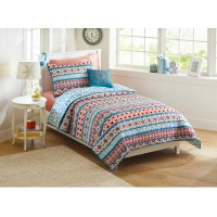 Better Homes and Gardens Turkish Medallion Quilt Bedding ...