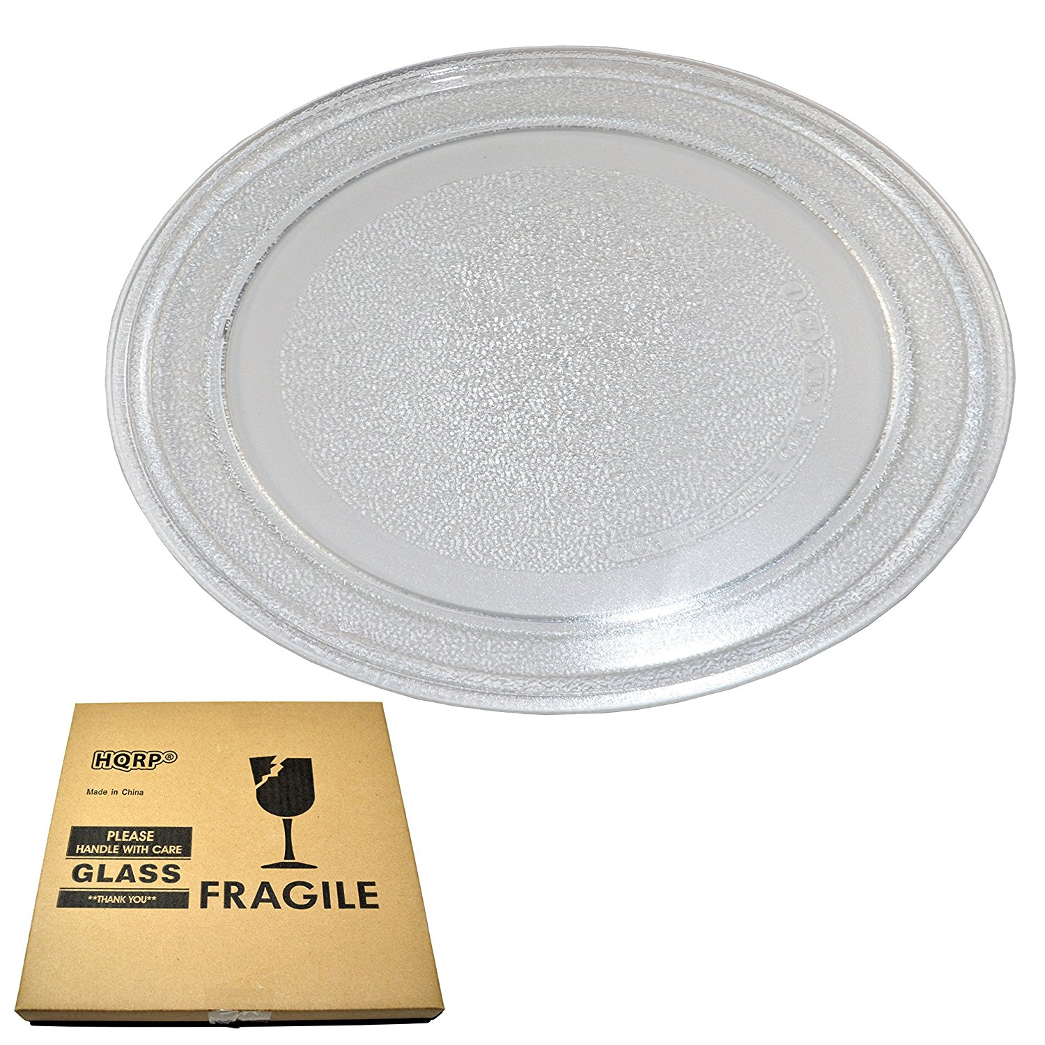 hqrp 9 5 8 inch glass turntable tray for ge wb49x10134 jes735bj01 jes735bj02 jes735wj01 jes735wj02 jes738wj01 jes738wj02 jes739wj01 jes0736sm1ss