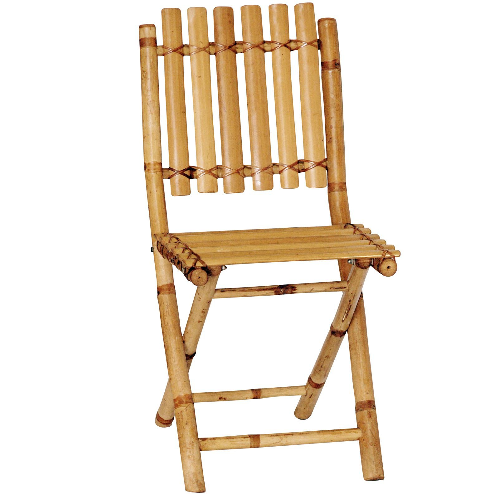 Bamboo Chairs Bamboo54 Folding Bamboo Chairs Set Of 2