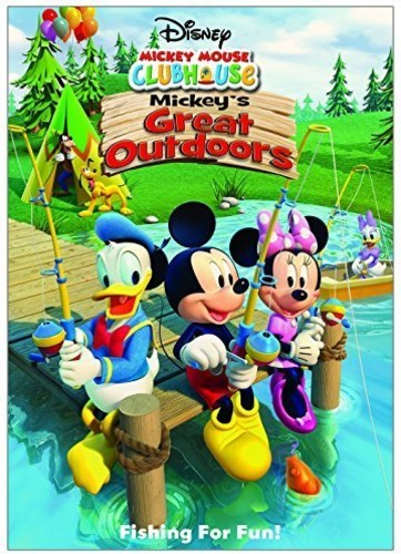 Mickey Mouse Clubhouse Mickey S Great Outdoors Dvd Walmart Com Walmart Com