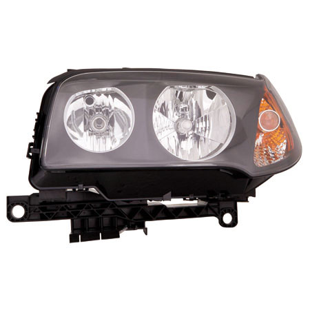 CarLights360: For 2004 2005 2006 BMW X3 Head Light Assembly Driver Side w/Bulbs (Black Housing) - Replacement for BM2502139 - Walmart.com ...