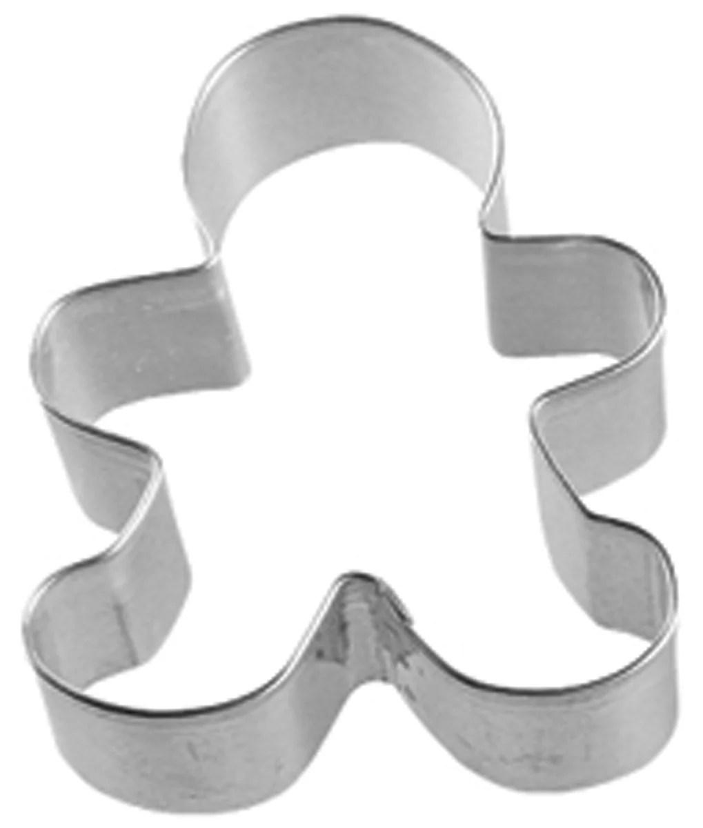 Metal Cookie Cutter 3 InchGingerbread Boy  Walmartcom