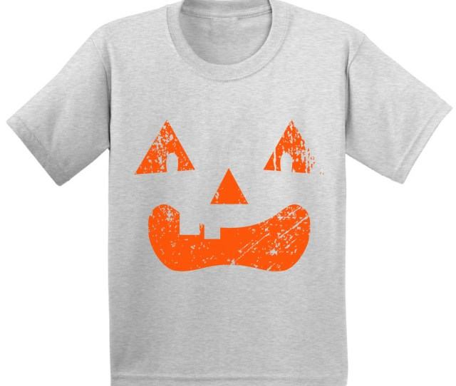 Awkward Styles Awkward Styles Halloween Youth Shirts Cute Pumpkin Shirt For Kids Jack O Lantern Tshirts Spooky Halloween Outfits Halloween Gifts