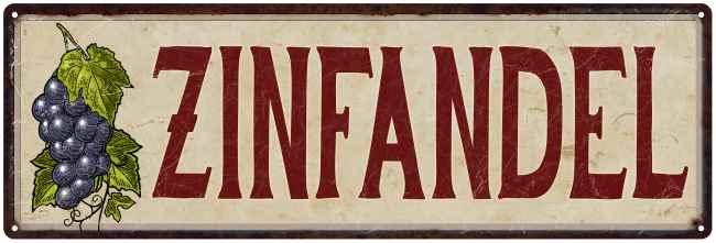 grapes and wine kitchen decor walnut cabinets zinfandel vintage wall metal sign 8x24 8240016023 walmart com