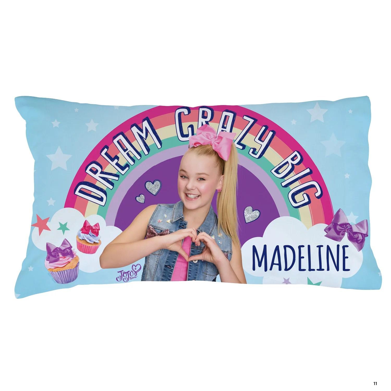 personalized jojo siwa pillowcase dream crazy big