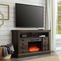 60 Inch TV Stand With Fireplace Media Console Electric ...