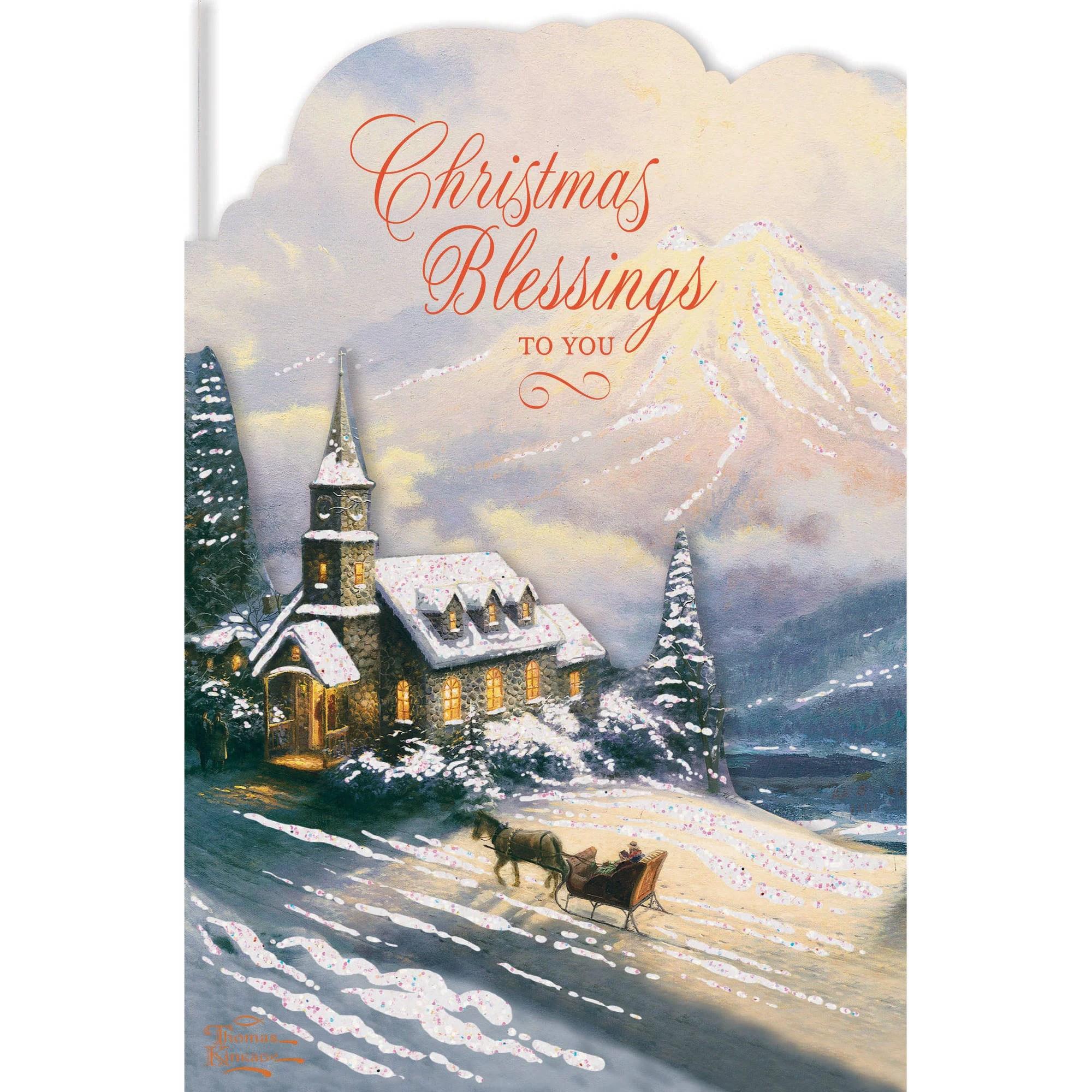 DaySpring Inspirational Boxed Christmas Cards Thomas