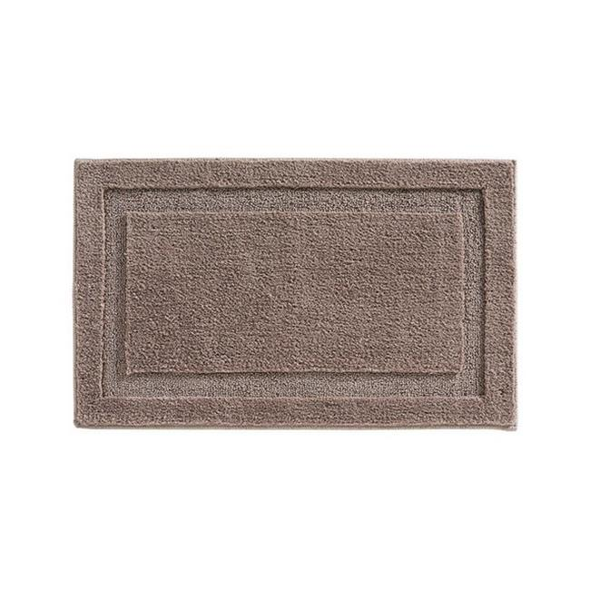 Interdesign 17069 34 X 21 In Taupe Bath Spa Rug  Pack Of 4