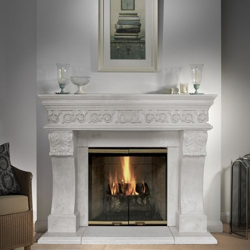 Historic Mantels Limited President Churchill Fireplace Surround  Walmartcom