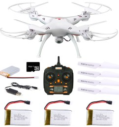 x5sw 1 6 axles gyro rc quadcopter 2 4g 4 ch d rone compact rc helicopter with 0 3mp w ifi fpv camera photography video device walmart com [ 1368 x 1374 Pixel ]