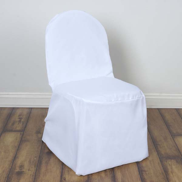 black chair covers party city ergo desk dining walmart com product image efavormart 50pcs round top polyester banquet linen dinning slipcover for hotel wedding