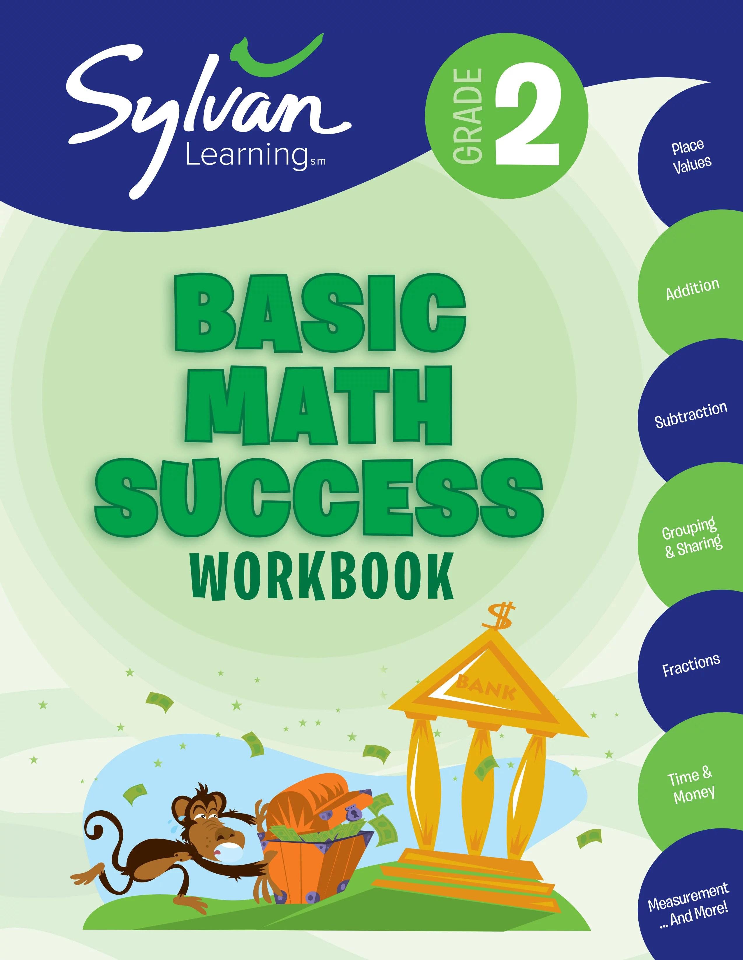 2nd Grade Basic Math Success Workbook Activities