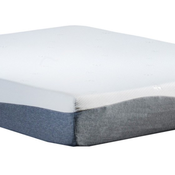 10 Inch High Density Gel Memory Foam Twin Mattress With Bamboo Cover
