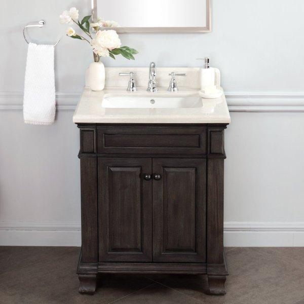 Lanza Wf6953-28 Kingsley 28 In. Single Bathroom Vanity