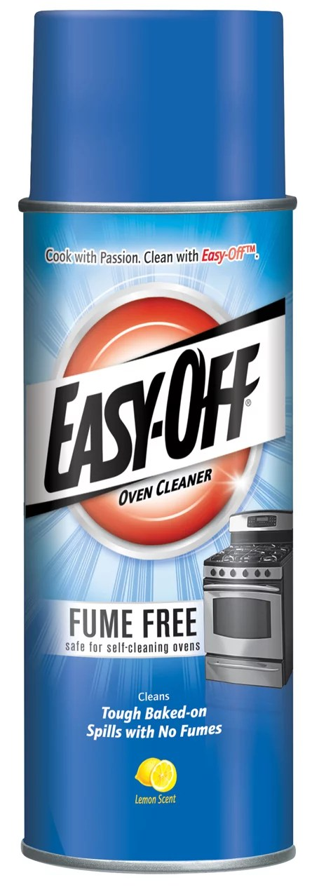 Easy Off Fume Free Oven Cleaner Spray Lemon 14 5oz Removes Grease Walmart Com Walmart Com