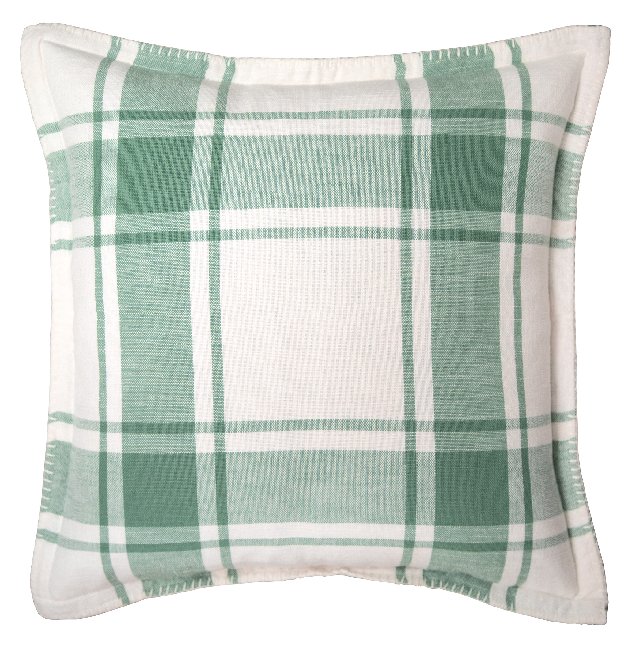 better homes gardens reversible plaid decorative pillow 20 x 20 green sage walmart com