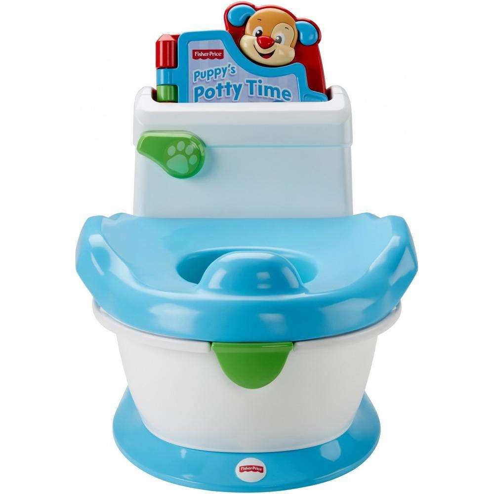 singing potty chair foldable lounge chairs outdoor fisher price laugh learn with puppy walmart com
