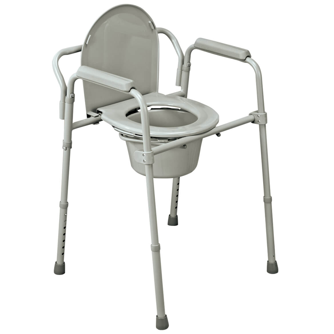 Bedside Commode Chair Folding Commode Portable Toilet And Bedside Commode Chair Includes Splash Guard Bucket Lid Cover