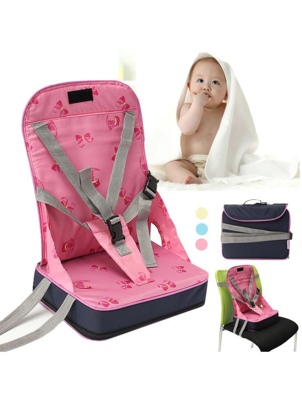 portable high chair booster stretch covers for sale in south africa foldable baby kids dining feeding seat with harness safety travel dine out folding toddler infant walmart com