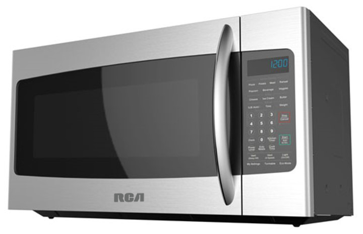rca 1 7 cu ft over the range microwave and convection oven stainless steel rmw1749 ss