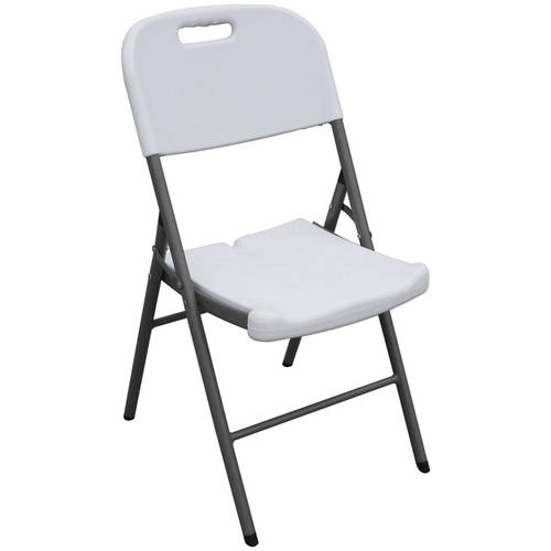 Sandusky Plastic Folding Chairs 4Pack  Walmartcom